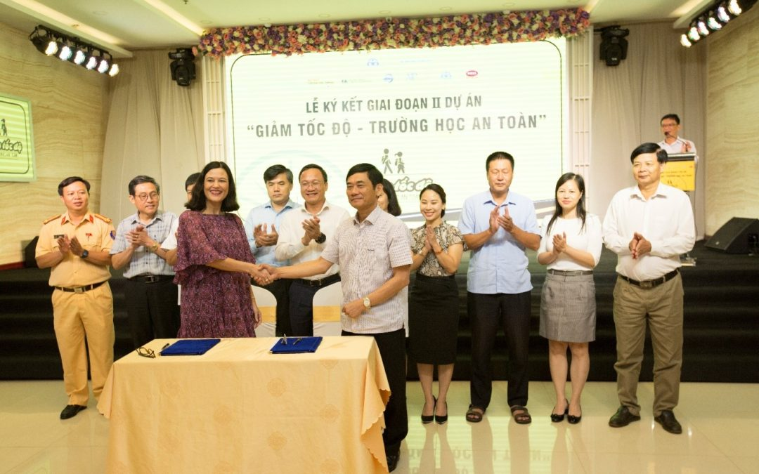 AIP Foundation scales up success of school zone upgrades in HCMC and Pleiku City