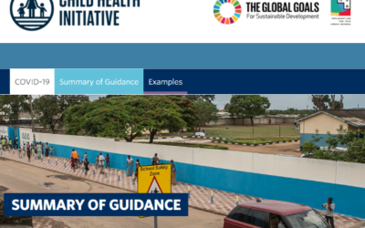 Ressource UNICEF et CHI: Guidance for Safe and Healthy Voyage to School (COVID-19 et au-delà)