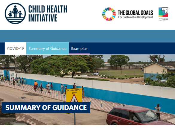 UNICEF and CHI resource: Guidance for Safe and Healthy Journeys to School (COVID-19 and beyond)