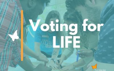 "Thiago Gonzaga Foundation presents ""Voting for Life"""