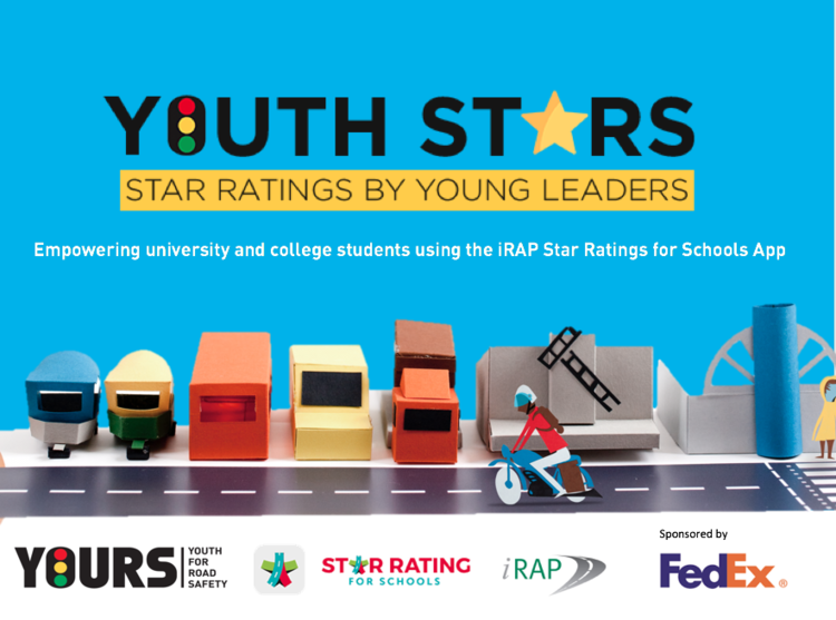 Youth Stars empowering youth leaders to promote safer journeys to school