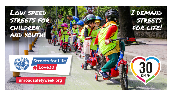 Just launched! The 6th UN Global Road Safety Week 17 – 21 May 2021